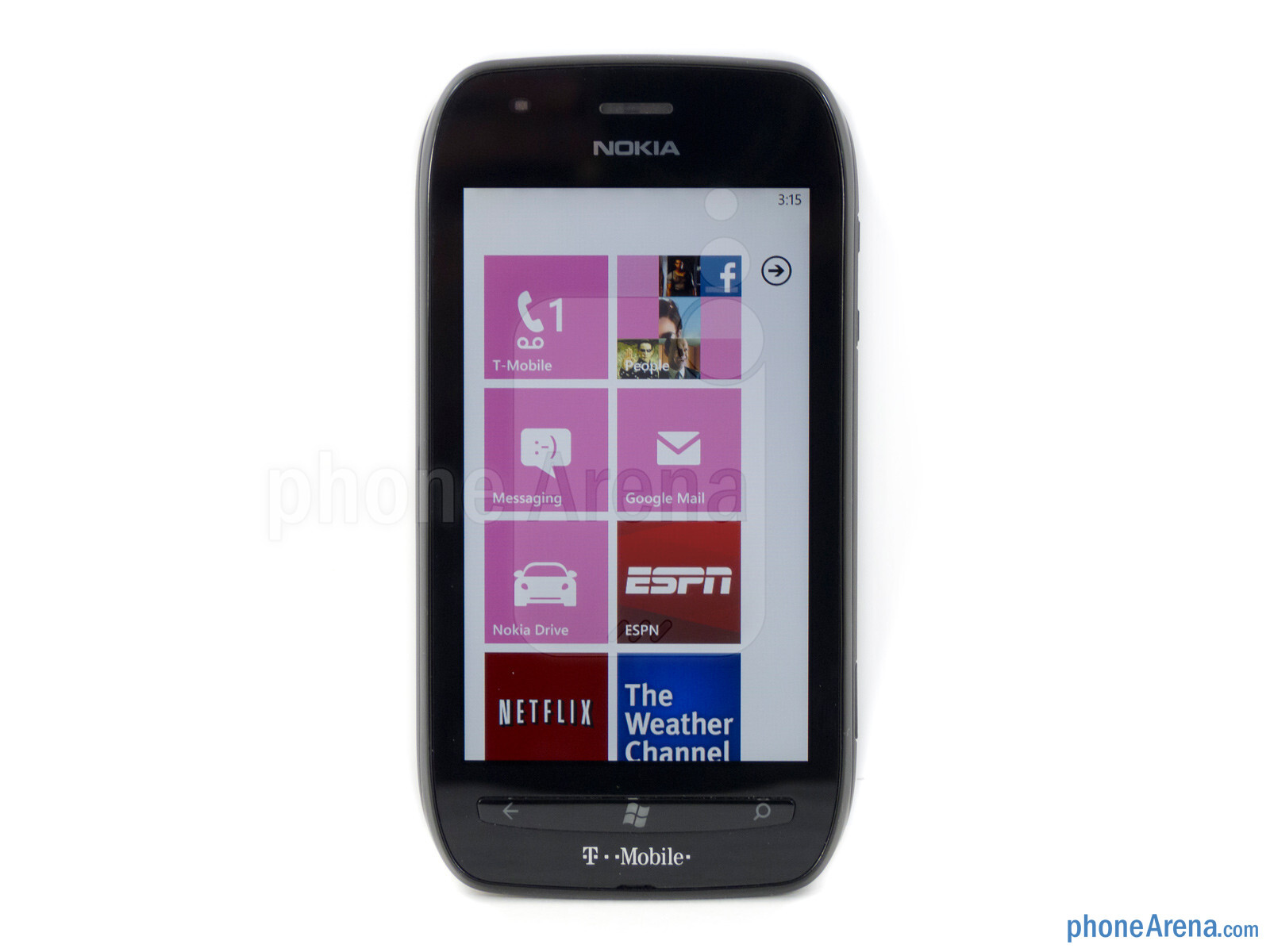 "492dff41565 The Nokia Lumia 710 has a 3.7"" WVGA Clear Black display - Nokia Lumia 710"