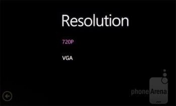 Camera interface - Nokia Lumia 710 Review