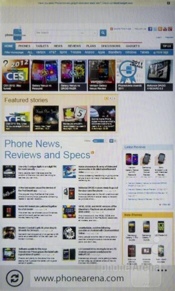 The web browsing experience on the Nokia Lumia 710  is wonderful  - Nokia Lumia 710 Review