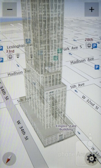 Nokia Drive offers  3D maps - Nokia Lumia 710 Review