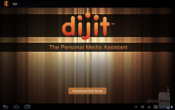 Dijit personal media application - Motorola DROID XYBOARD 10.1 Review