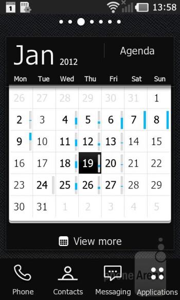 The LG Prada 3.0 uses the Android 2.3 - LG Prada 3.0 Review