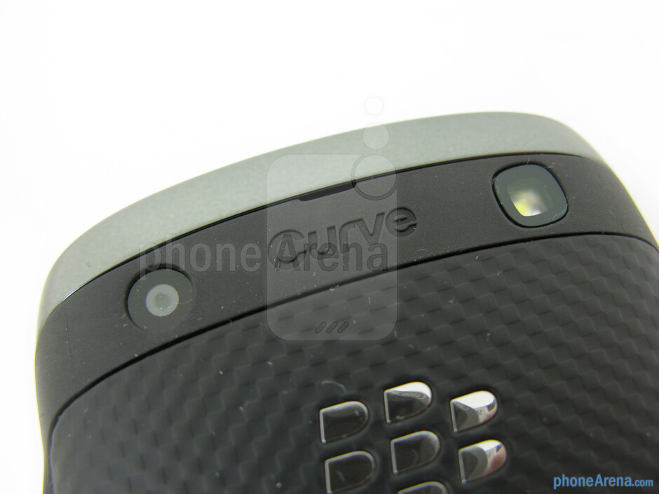 Camera and flash - RIM BlackBerry Curve 9370 Review