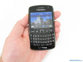 The RIM BlackBerry Curve 9370 is quite comfortable to hold - RIM BlackBerry Curve 9370 Review