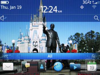 The RIM BlackBerry  Curve 9370 runs BlackBerry OS 7 - RIM BlackBerry Curve 9370 Review