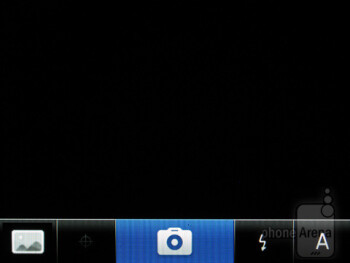 Camera interface - RIM BlackBerry Curve 9370 Review
