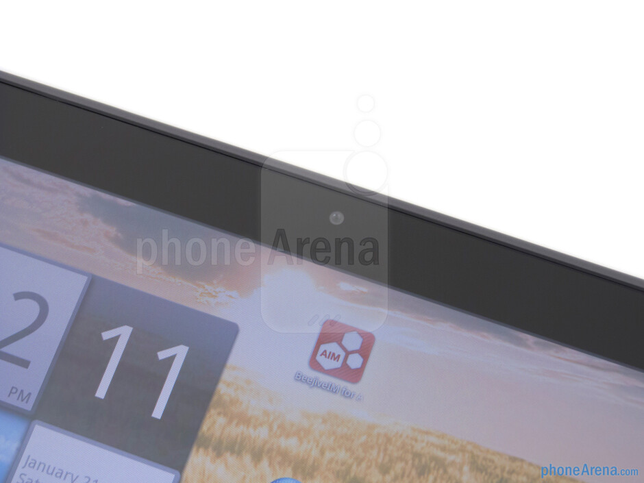 Front-facing camera - Acer ICONIA TAB A200 Review