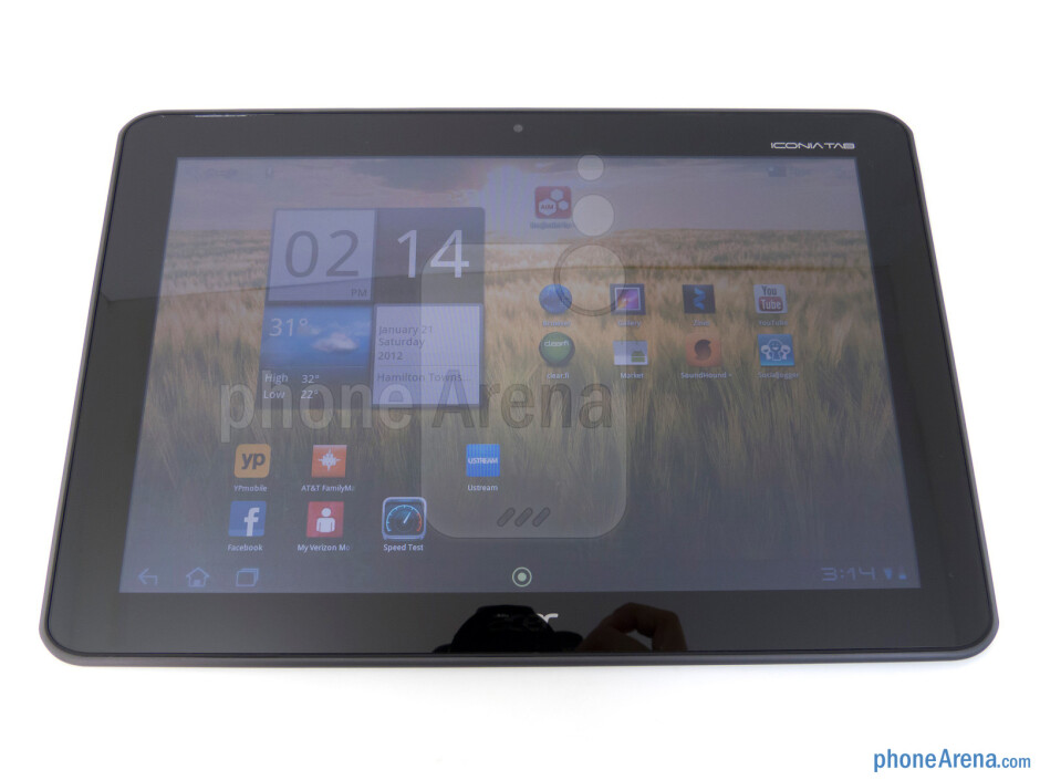 Viewing angles of the Acer ICONIA TAB A200 - Acer ICONIA TAB A200 Review