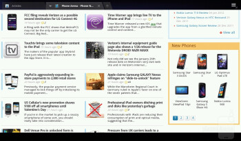 Web browsing on the Acer ICONIA TAB A200 - Acer ICONIA TAB A200 Review
