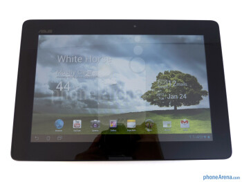 The Asus Transformer Prime offers a 10.1'' WXGA LED backlit Super IPS+ display - Asus Transformer Prime Review