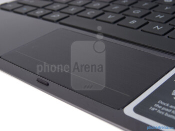 Keyboard touchpad - The chicklet style buttons on the keyboard are tiny - Asus Transformer Prime Review