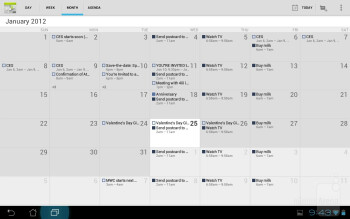 Organizer apps - Asus Transformer Prime Review