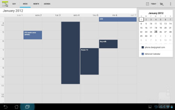 Organizer apps - Asus Transformer Prime Review