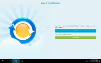 The MyCloud app - Apps on the Asus Transformer Prime - Asus Transformer Prime Review