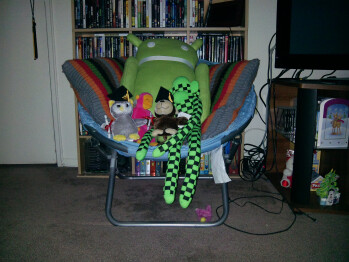 7ft - Darkness with flashIndoor samples - Asus Transformer Prime Review