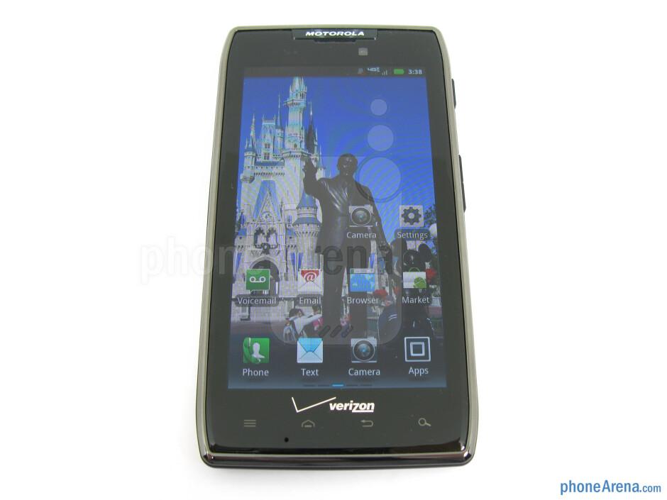 "The 4.3"" Super AMOLED Advanced display - Motorola DROID RAZR MAXX Review"