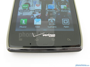 Capacitive buttons - Motorola DROID RAZR MAXX Review
