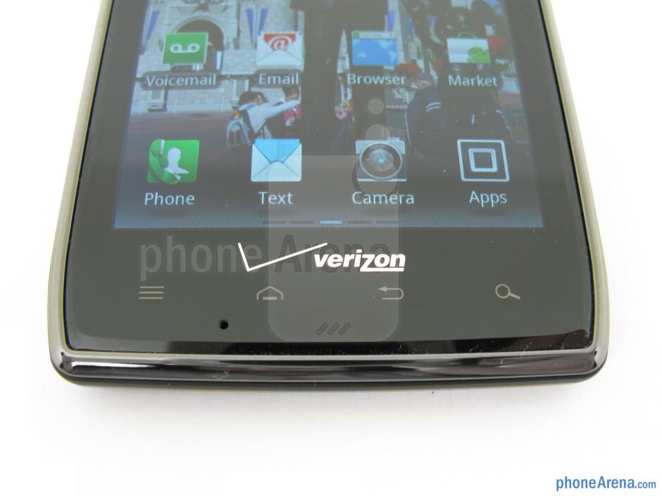 Capacitive buttons - Motorola DROID RAZR MAXX Review