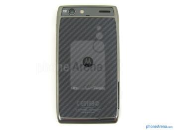 Back - Motorola DROID RAZR MAXX Review