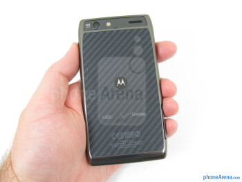 The Motorola DROID RAZR MAXX feels comfortable in the hand and is not overly heavy - Motorola DROID RAZR MAXX Review