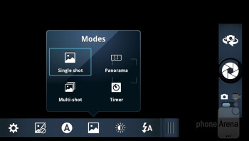 Camera interface - Motorola DROID RAZR MAXX Review