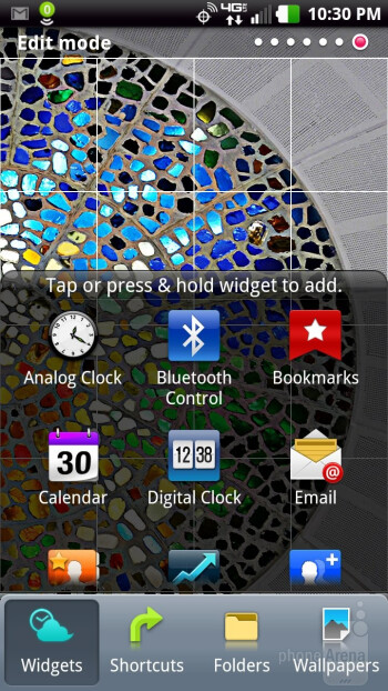 The LG  Spectrum features the Optimus 2.0 skin on top of Android 2.3.5  Gingerbread - LG Spectrum vs Samsung Galaxy Nexus