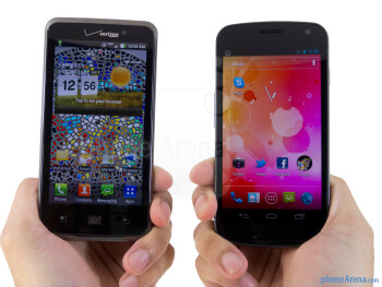LG Spectrum vs Samsung Galaxy Nexus