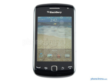 "The 3.2"" display - RIM BlackBerry Curve 9380 Review"