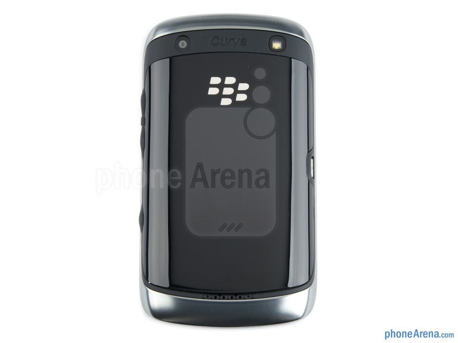 The RIM BlackBerry Curve 9380 is a very compact and lightweight device that cups well in the palm - RIM BlackBerry Curve 9380 Review