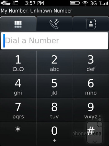 Dialer - RIM BlackBerry Curve 9380 Review