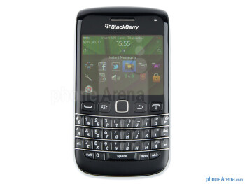 The device fits nicely in the hand&nbsp - RIM BlackBerry Bold 9790 Review