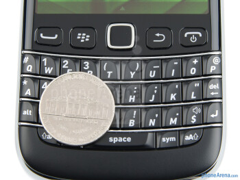 The QWERTY keyboard is among the better ones - RIM BlackBerry Bold 9790 Review