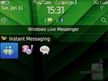 The calendar and instant messaging don't disappoint either - RIM BlackBerry Bold 9790 Review