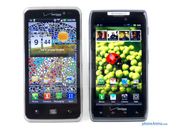 LG Spectrum vs Motorola DROID RAZR