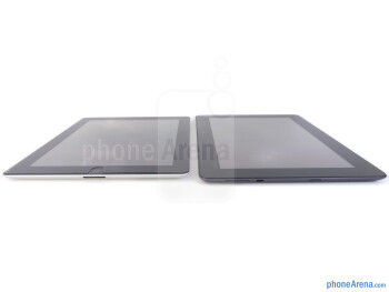 Asus Transformer Prime (right), Apple iPad 2 (left) - Asus Transformer Prime vs Apple iPad 2
