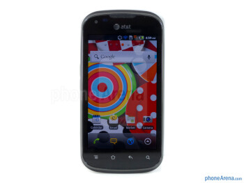 "The Pantech Burst has a 4"" WVGA Super AMOLED display - Pantech Burst Review"