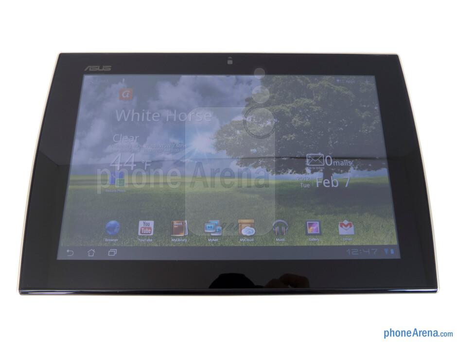 """The Asus Eee Pad Slider has a 10.1"""" WXGA IPS display - Asus Eee Pad Slider Review"""