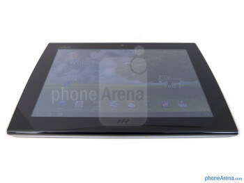 "The Asus Eee Pad Slider has a 10.1"" WXGA IPS display - Asus Eee Pad Slider Review"