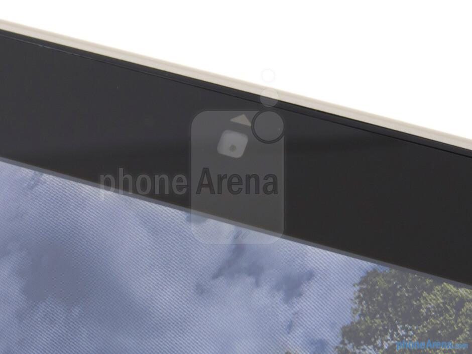 Front-facing camera - Asus Eee Pad Slider Review