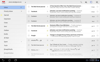 Email - Asus Eee Pad Slider Review