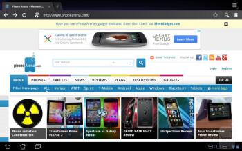The Asus Eee Pad Slider provides a stellar web browsing experience - Asus Eee Pad Slider Review