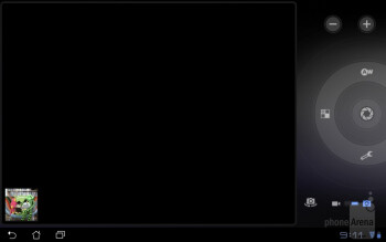 Camera interface - Asus Eee Pad Slider Review