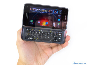 The Motorola DROID 4 utilizes the same design characteristics used on recent Motorola devices - Motorola DROID 4 Review