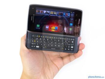 The Motorola DROID 4 utilizes the same design characteristics used on recent Motorola devices - Motorola DROID 4 Review
