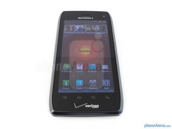 "The Motorola DROID 4 is boasting a 4"" qHD TFT LCD display - Motorola DROID 4 Review"