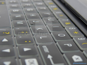 The physical keyboard of the Motorola DROID 4 - Motorola DROID 4 Review