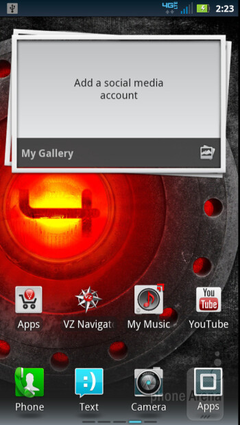 The Motorola DROID 4 is running on Android 2.3.6 Gingerbread - Motorola DROID 4 Review
