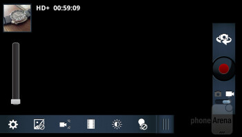 Camera interface - Motorola DROID 4 Review