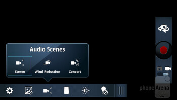 Camera interface of the Motorola DROID 4 - Motorola DROID 4 vs Motorola DROID RAZR MAXX