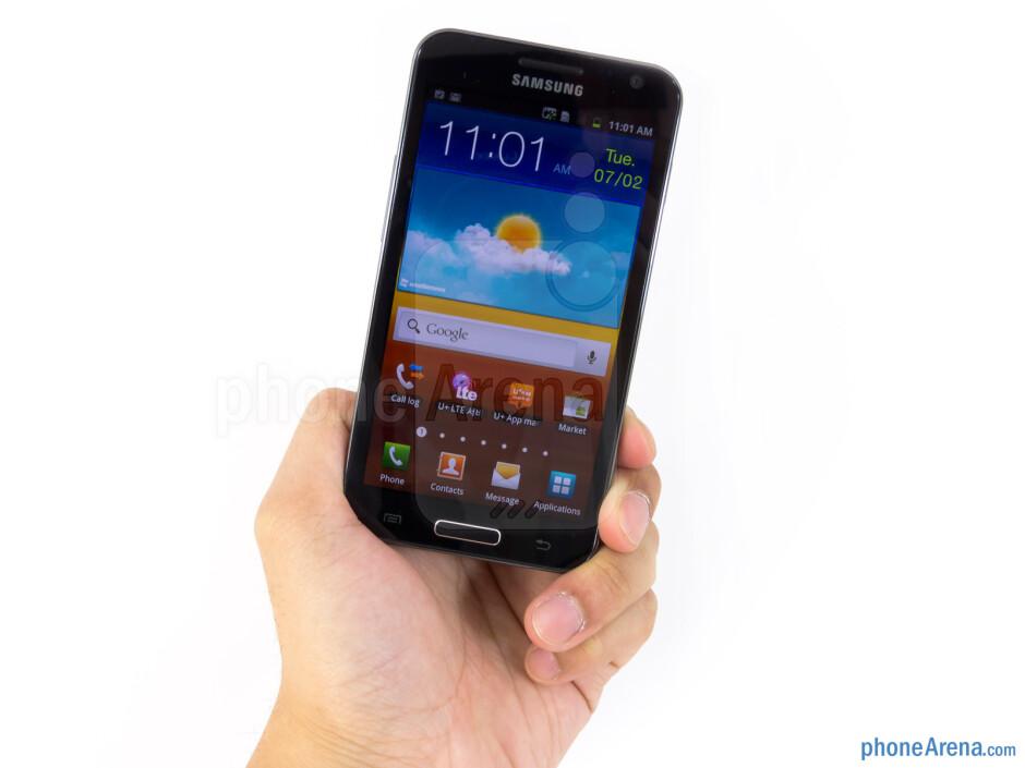 The Samsung Galaxy S II HD LTE is streamlined - Samsung Galaxy S II HD LTE Review